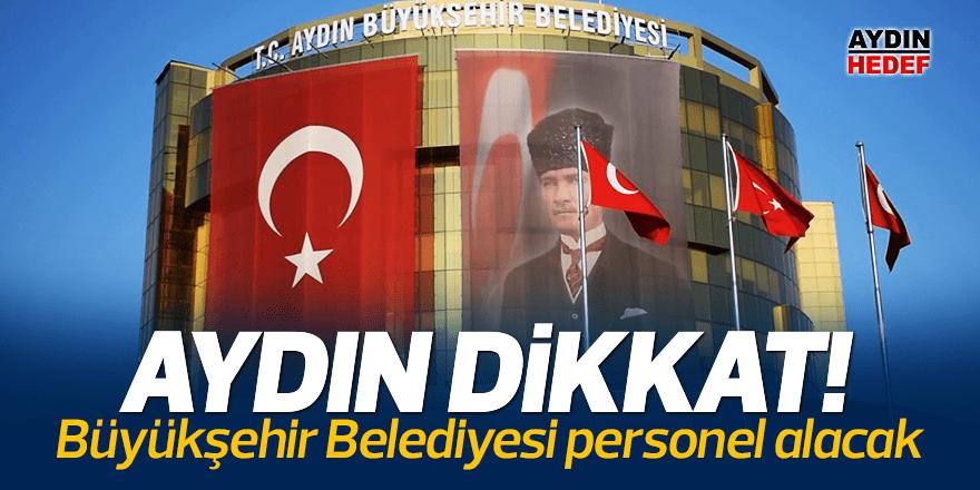 Büyükşehir Belediyesi personel alacak