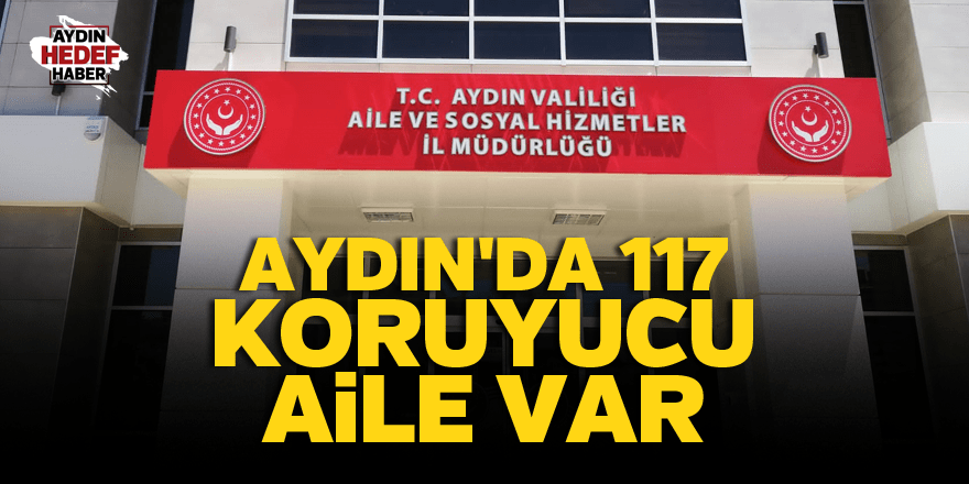 Aydın'da 117 koruyucu aile var