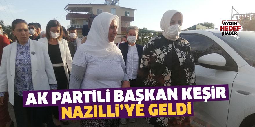 AK Partili Başkan Keşir Nazilli'ye geldi