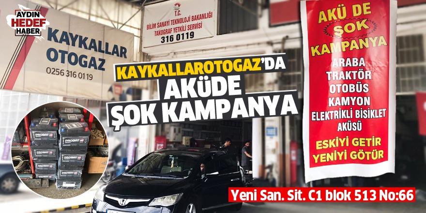 Kaykallar Otogaz'da şok kampanya