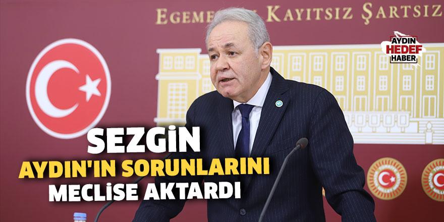 Sezgin Aydın'ın sorunlarını Meclise aktardı