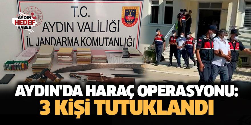 Aydın'da haraç operasyonu: 3 kişi tutuklandı