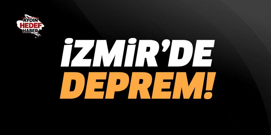 İzmir'de deprem! 4.3