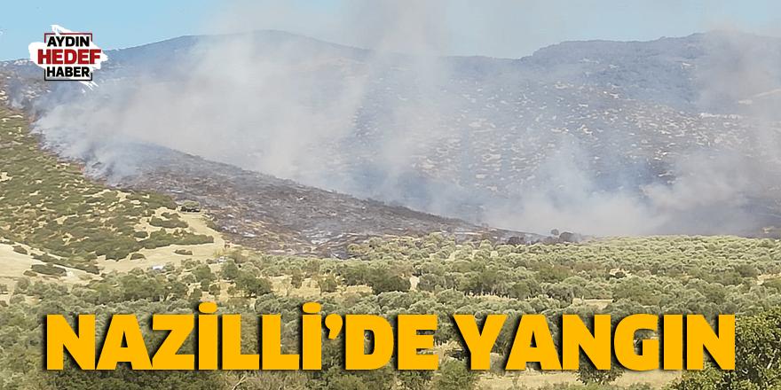 Nazilli'de yangın çıktı
