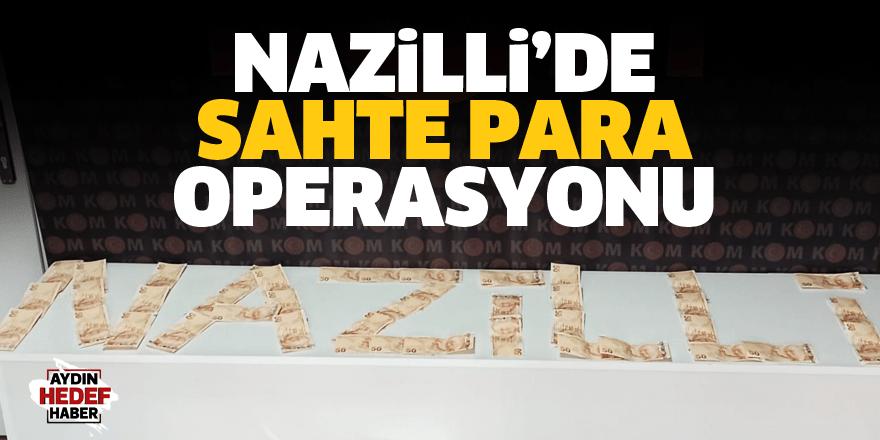 Nazilli'de sahte para ve uyuşturucu operasyonu