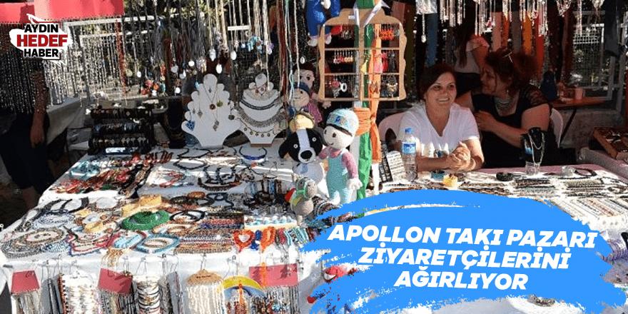 Apollon Takı Pazarı ziyaretçilerini ağırlıyor