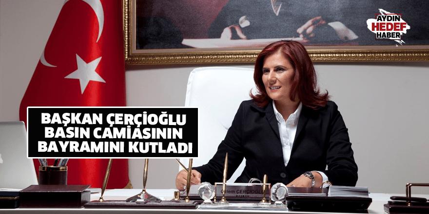 Başkan Çerçioğlu basın camiasının bayramını kutladı