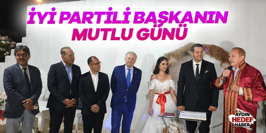 İYİ Partili başkanın mutlu günü