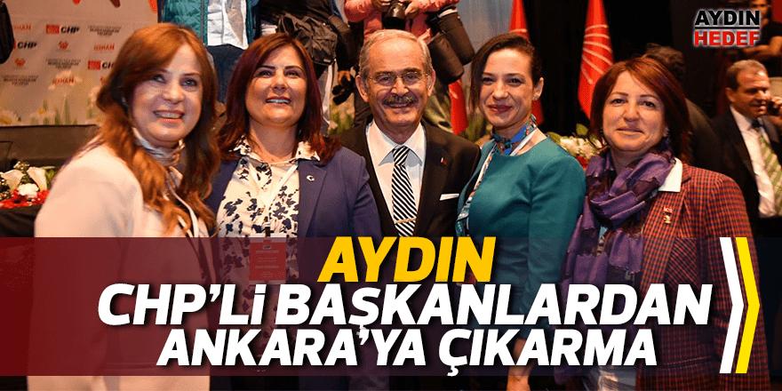 CHP'li başkanlar Ankara'ya çıkarma yaptı