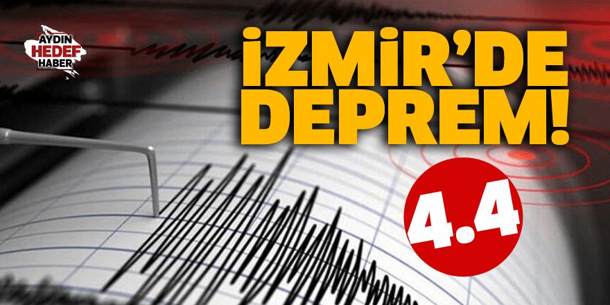 İzmir'de deprem! 4.4...