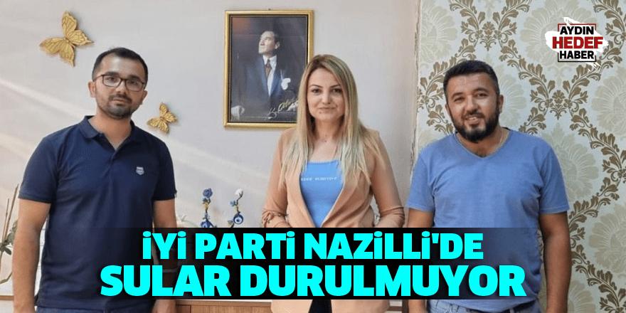 İYİ Parti Nazilli'de sular durulmuyor