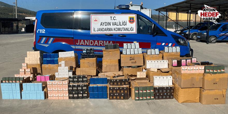 250 bin liralık kaçak parfüm yakalandı