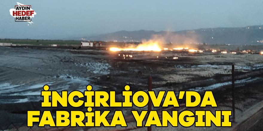 İncirliova'da fabrika yangını