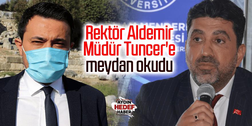 Rektör Aldemir fidan kampanyası başlattı
