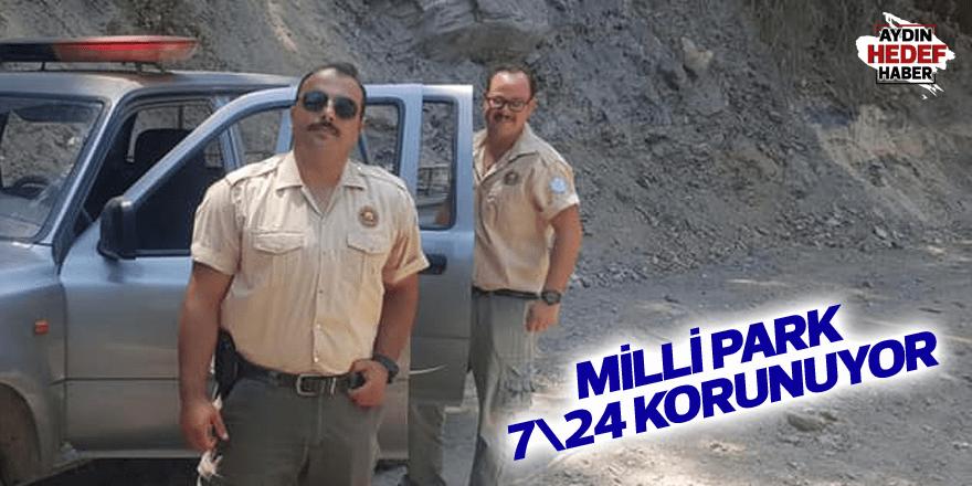 Milli Park 7\24 korunuyor