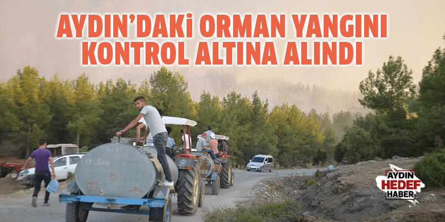 Aydın'daki orman yangını kontrol altına alındı