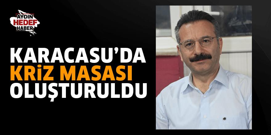 Karacasu'da kriz masası oluşturuldu