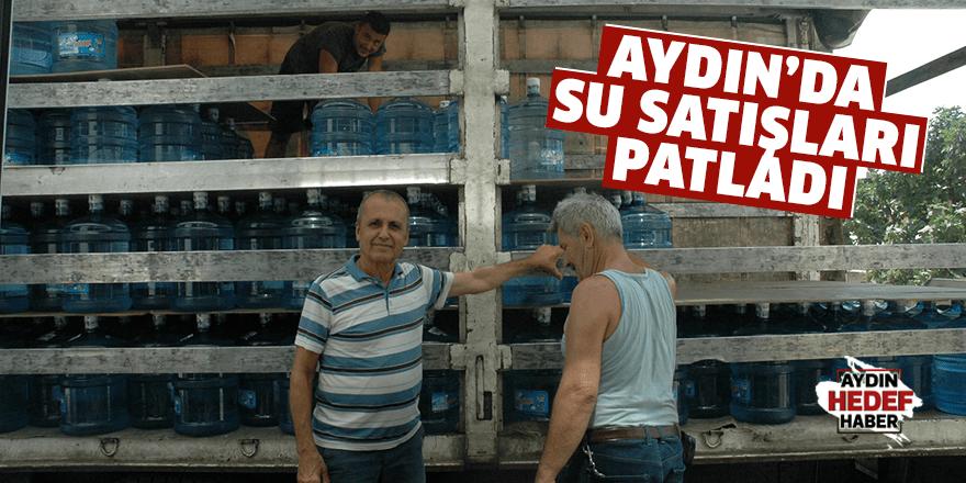 Aydın'da su satışları patladı