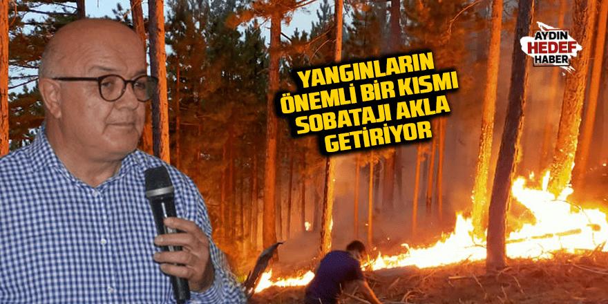 Yangınların önemli bir kısmı sobatajı akla getiriyor
