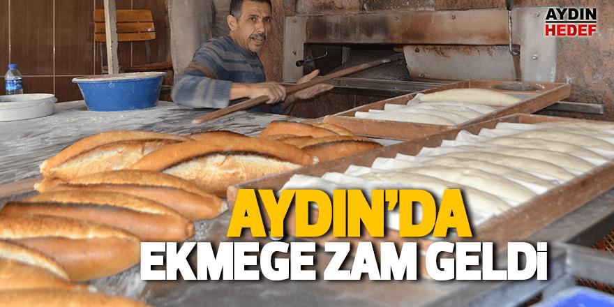 Karacasu'da ekmeğe 25 kuruş zam geldi