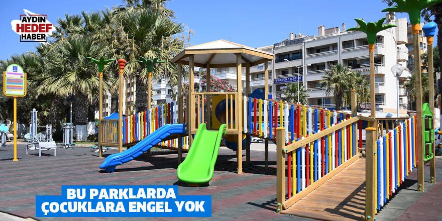 Bu parklarda çocuklara engel yok