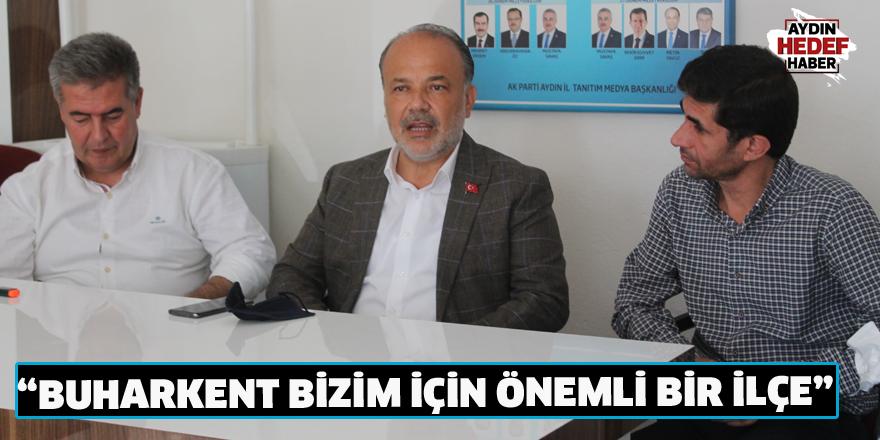 AK Partili Yavuz Buharkent'te vatandaşlarla buluştu