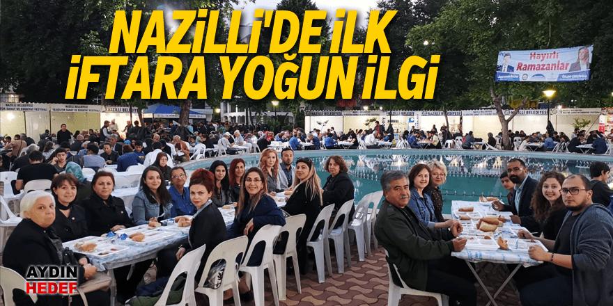 Aydın'da ilk iftar açıldı
