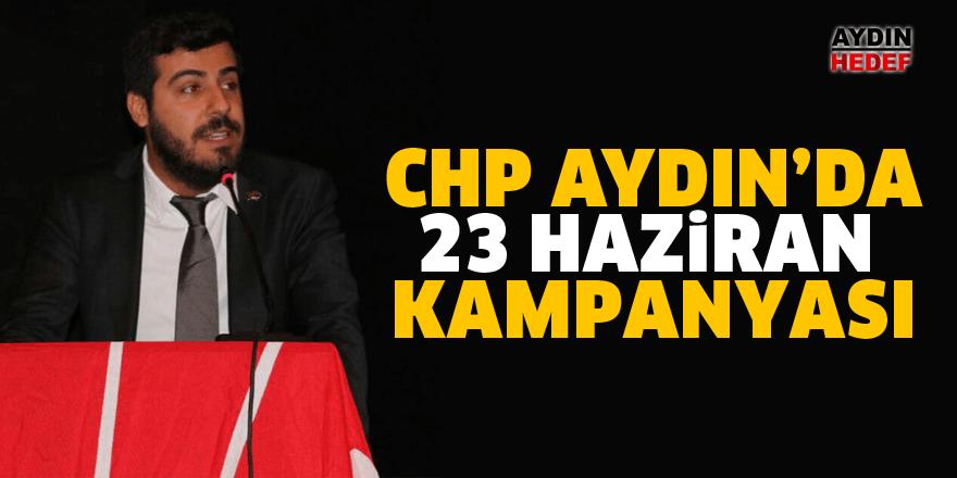 CHP Gençlik Kollarından 23 Haziran kampanyası
