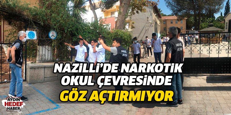 Nazilli'de  Narkotik Okul  Çevresinde Göz Açtırmıyor