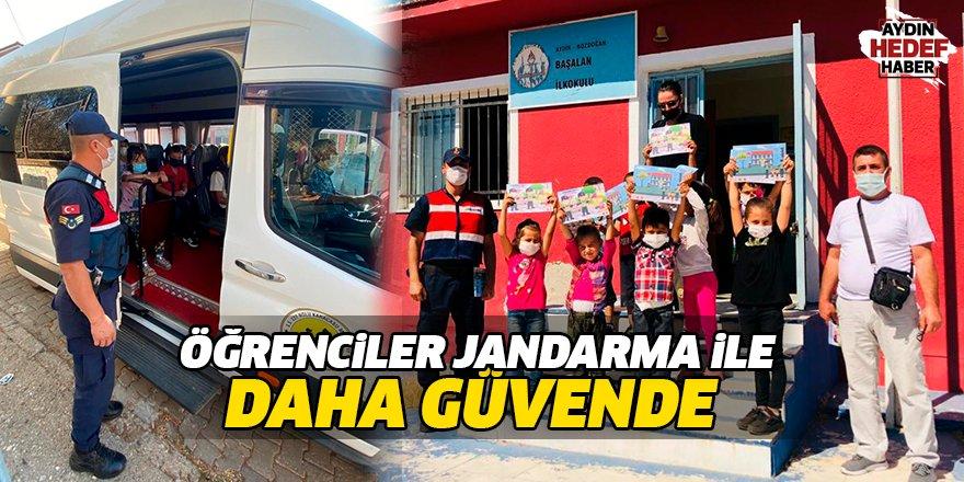 Öğrenciler Jandarma ile daha güvende