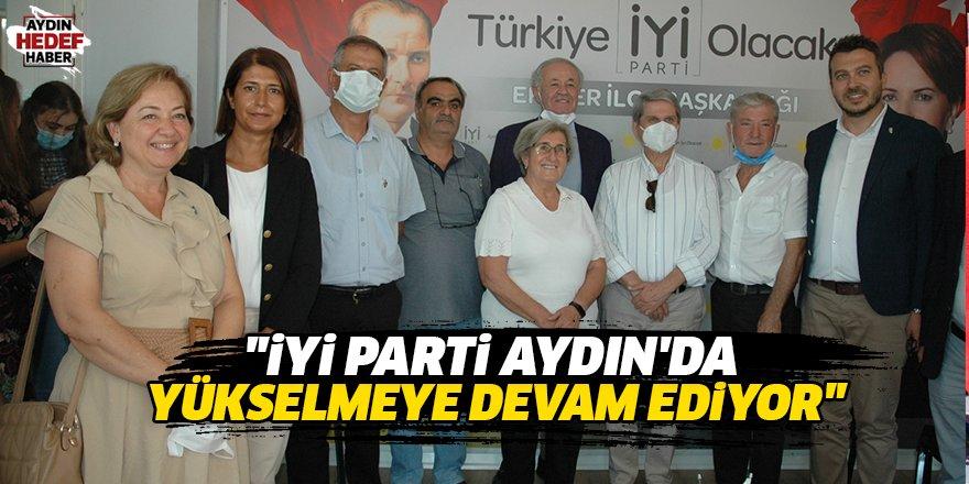 """""""İYİ Parti Aydın'da yükselmeye devam ediyor"""""""