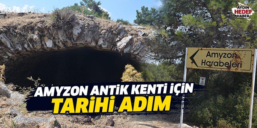 Amyzon  Antik  Kenti İçin Tarihi Adım