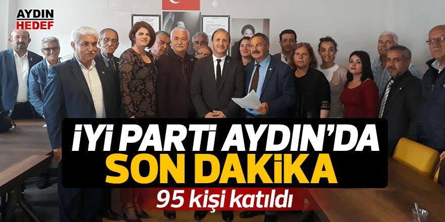 Söke'de 95 kişi İYİ Parti'ye katıldı