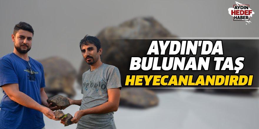 Aydın'da Bulunan Taş  Heyecanlandırdı