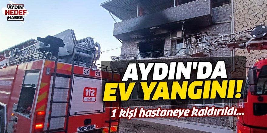 Aydın'da Ev Yangını!