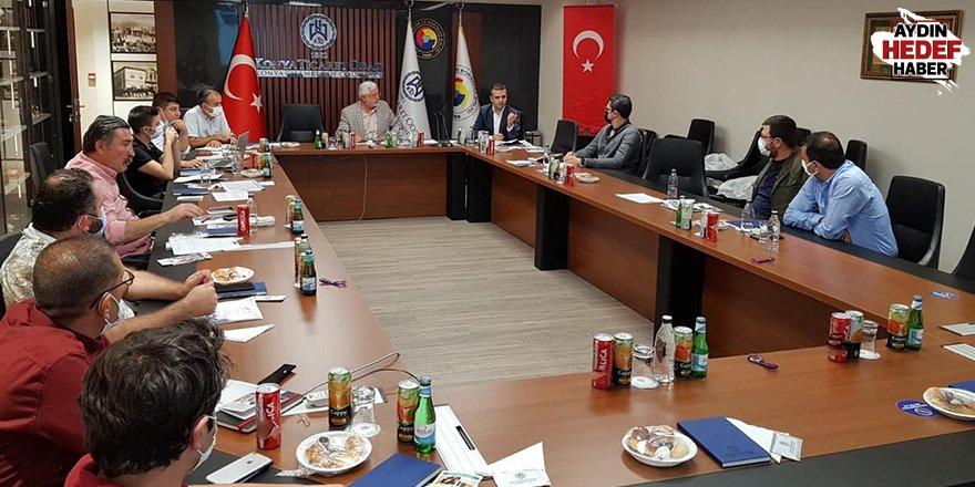 AYTO'nun proje ekibi Konya'da sunum yaptı