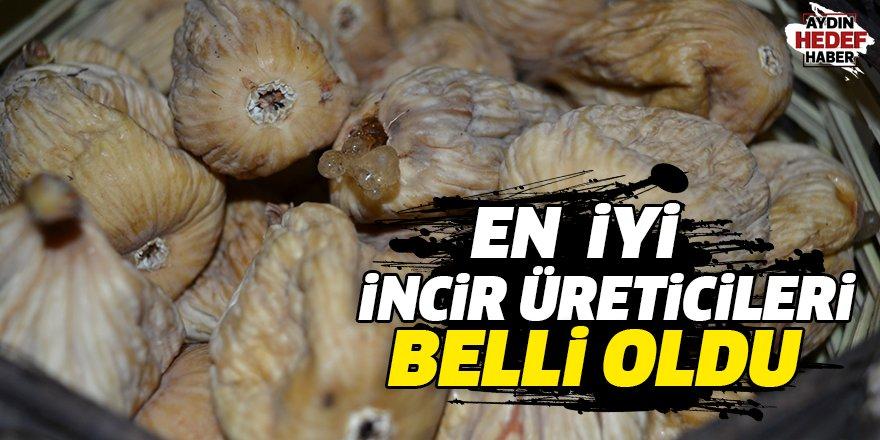 En iyi incir üreticileri belli oldu