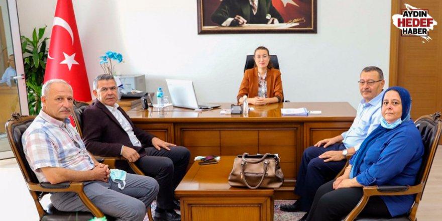 Başkan Güler'den Kaymakam Polat'a hoş geldin ziyareti