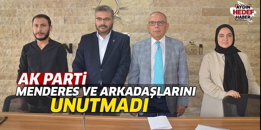 AK Parti Menderes ve arkadaşlarını unutmadı