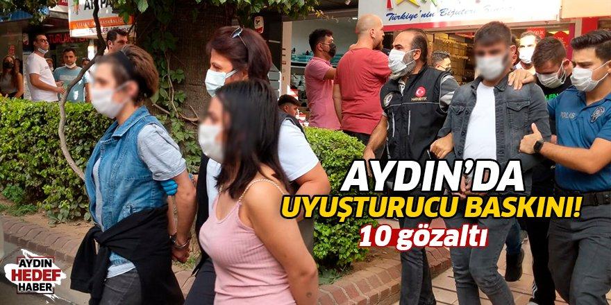 Aydın'da uyuşturucu baskını