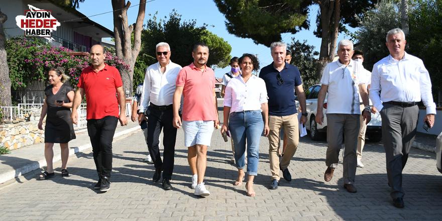 Kuşadası Belediyesi halkla buluşmaya devam ediyor