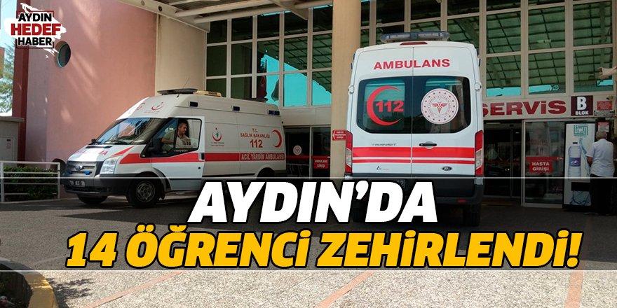 Aydın'da 14 öğrenci zehirlendi!