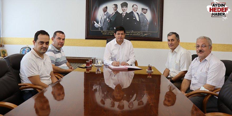 Nazilli'de protokol imzalandı