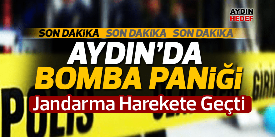 Büyük Menderes'te bomba paniği