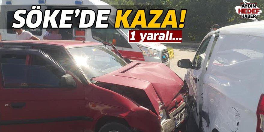 Söke'de kaza: 1 yaralı