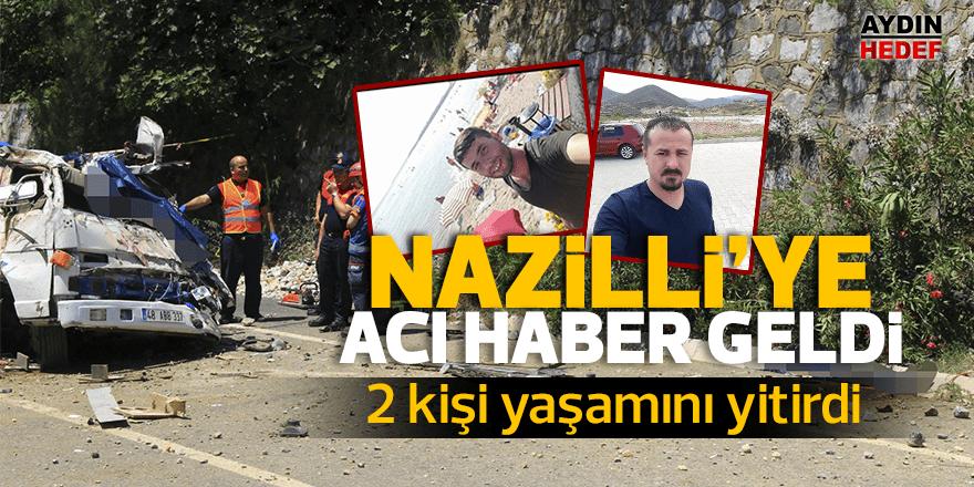 Nazilli'yi kahreden kaza