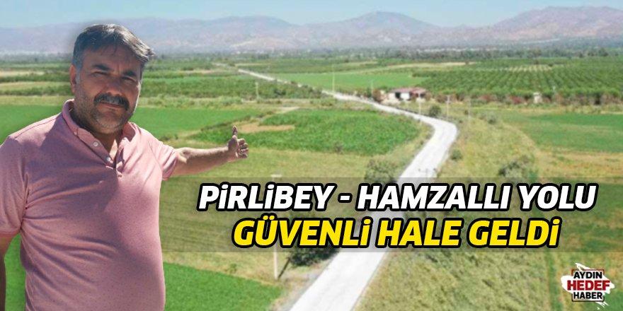Pirlibey-Hamzallı yolu güvenli hale geldi
