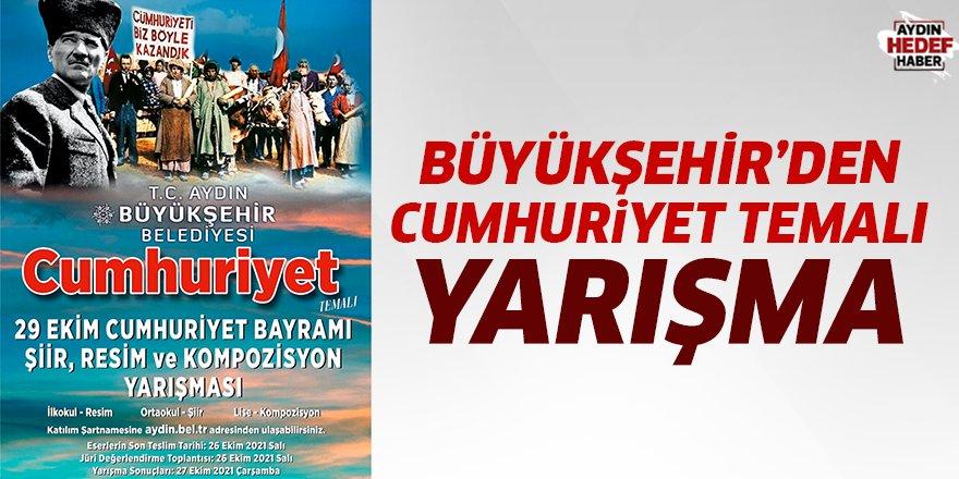 Büyükşehir'den Cumhuriyet temalı yarışma