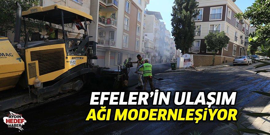 Efeler'in ulaşım ağı modernleşiyor