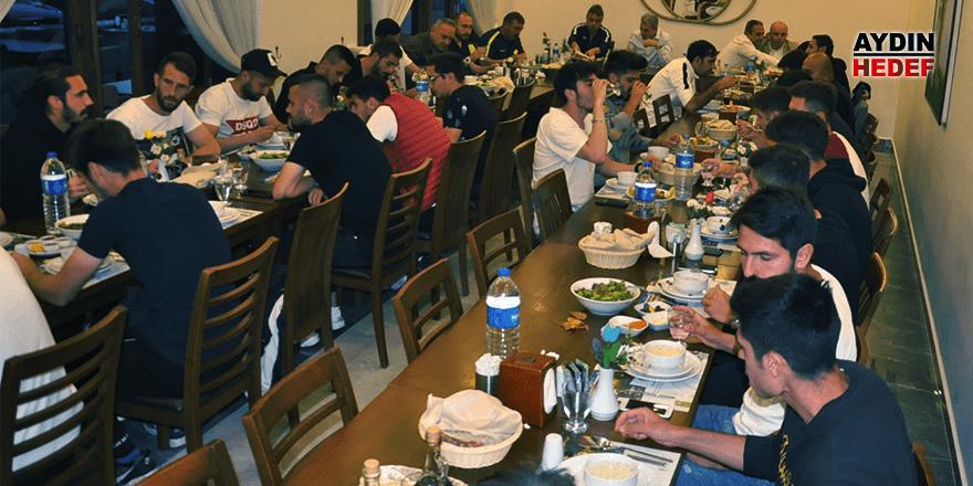 Önemli maç öncesi iftar morali
